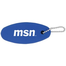 Plastic Floating Keychain for Marketing