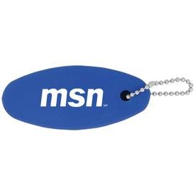 Plastic Floating Keychain for Marketing