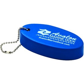 Branded Unsinkable Floating Keychain
