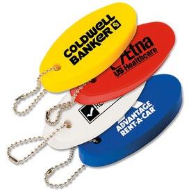 Floating Oval Key Tag