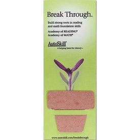 Company Flower Plant A Shape Bookmark