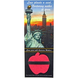 Advertising Flower Plant A Shape Bookmark