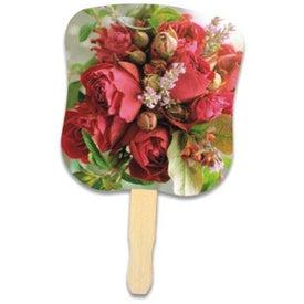 Promotional Flower Bouquet Hand Fan