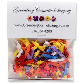 Flower Seeded Paper Confetti Packets