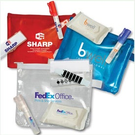 Imprinted Flu Prevention Kit