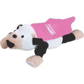 Flying Mooing Cow for Advertising