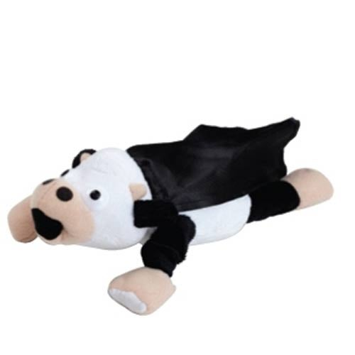 Black Flying Mooing Cow