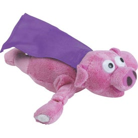 Flying Screamin Pig with Your Slogan
