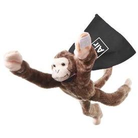 Flying Shrieking Monkey with Your Slogan