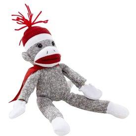 Flying Shrieking Classic Sock Monkey for Promotion