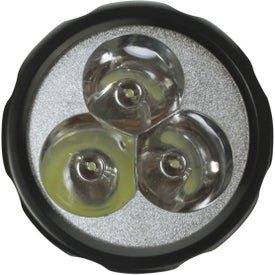 Imprinted FM Scanner Flashlight Radio Combo
