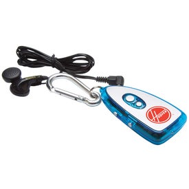 FM Scanner Radio Carabineer Printed with Your Logo
