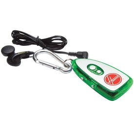 FM Scanner Radio Carabineer for Promotion