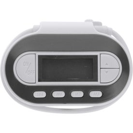 Promotional FM Radio Transmitter With Built-In Led Light