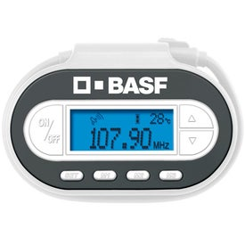 FM Radio Transmitter With Built-In Led Light