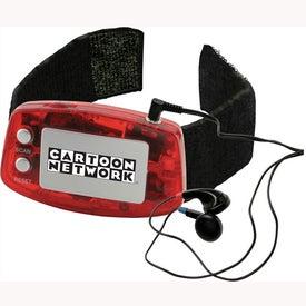 Branded FM Scanner Arm Band Radio