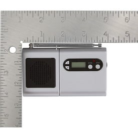Customized FM Scanner Radio And LCD Clock