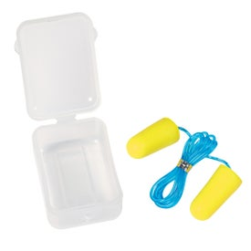 Foam Ear Plug Set In Case with Your Logo