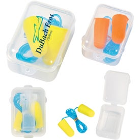 Foam Ear Plug Set In Case for Your Church