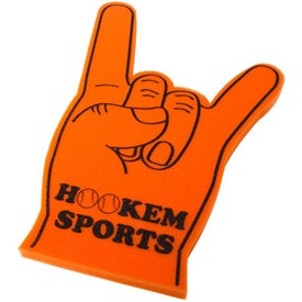 Printed Foam Hookem Hand