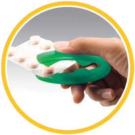 Foil Pack Pill Opener Printed with Your Logo