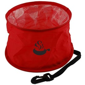 Promotional Fold N Go Pet Bowl