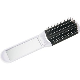 Advertising Foldable Brush with Mirror