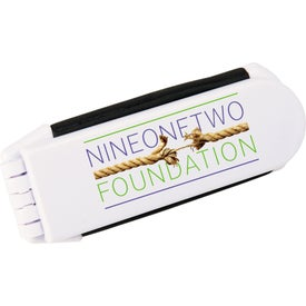 Foldable Brush with Mirror Imprinted with Your Logo