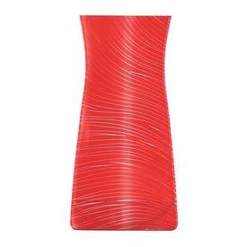Foldable Designer Print Vase for Promotion