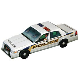 Foldable Die-Cut Police Car