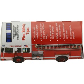 Foldable Die-Cut Fire Truck (Digitally Printed)