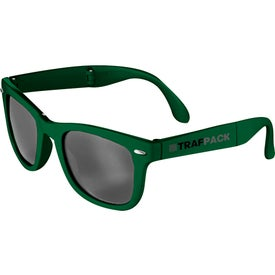 Logo Foldable Sun Ray Sunglasses