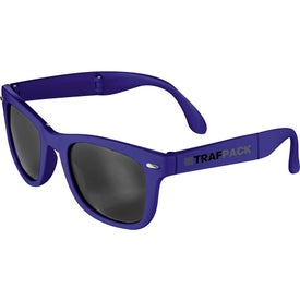 Foldable Sun Ray Sunglasses Printed with Your Logo