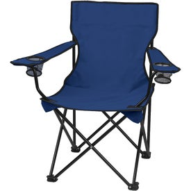 Branded Folding Chair with Carrying Bag