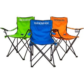 Folding Chair with Carrying Bag (Colors)