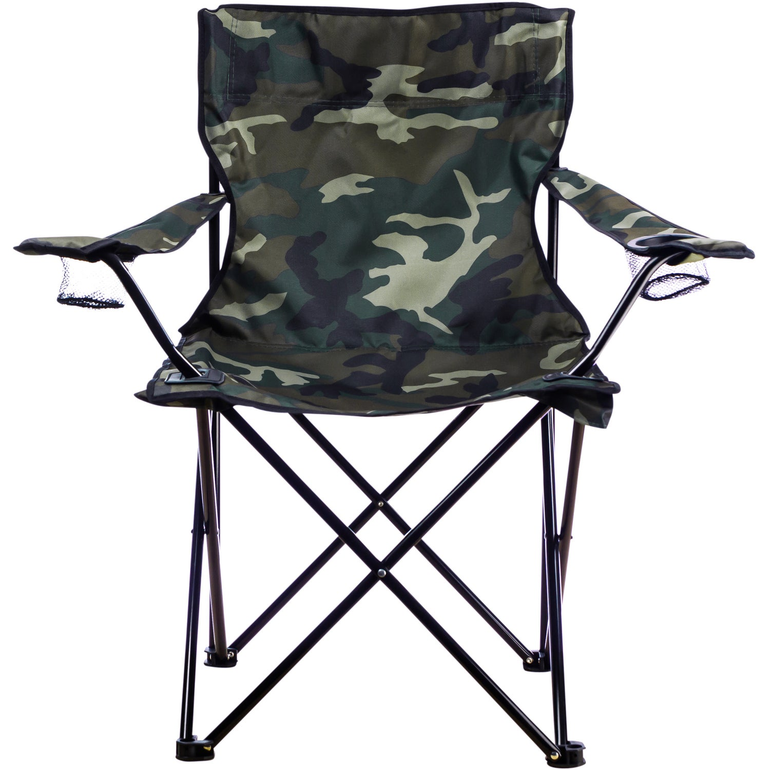 Elegant Promotional Camo Folding Chair With Carrying Bags With Custom Logo For  $11.45 Ea.