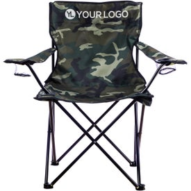 Folding Chair with Carrying Bag (Camouflage)