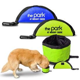 Promotional Folding Dog Bowls