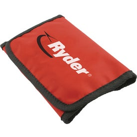 Folding Zipper Pouch First Aid Kit Imprinted with Your Log
