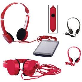 Folding Headphones with Microphone