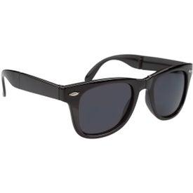 Folding Malibu Sunglasses Branded with Your Logo
