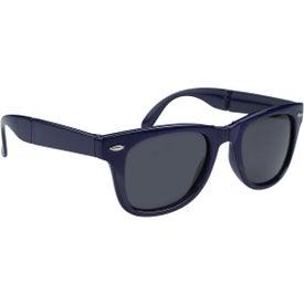 Folding Malibu Sunglasses Printed with Your Logo