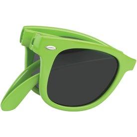 Personalized Folding Malibu Sunglasses