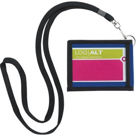 Folding Neck Wallet Branded with Your Logo