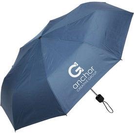 Monogrammed Spring Breeze Folding Umbrella