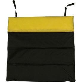 Logo Custom Folding Stadium Cushion