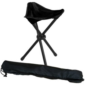 Folding Tripod Stool with Carrying Bag Printed with Your Logo