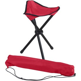Advertising Folding Tripod Stool with Carrying Bag