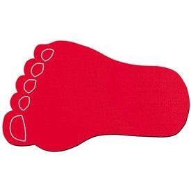Monogrammed Foot Jar Opener