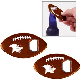 Football Bottle Opener Branded with Your Logo